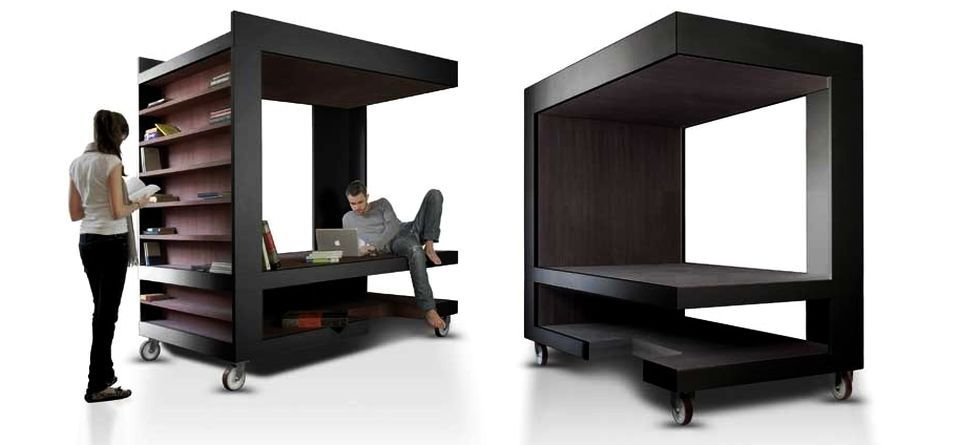 multifunction furniture small spaces. Luoto Is Multi-functional Furniture For Storage, Working And Relaxing Multifunction Small Spaces
