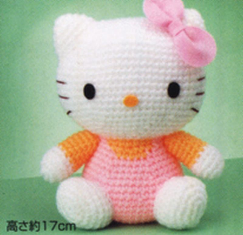 hello kitty Stuffed Bears Pinterest Amigurumi, Hello ...