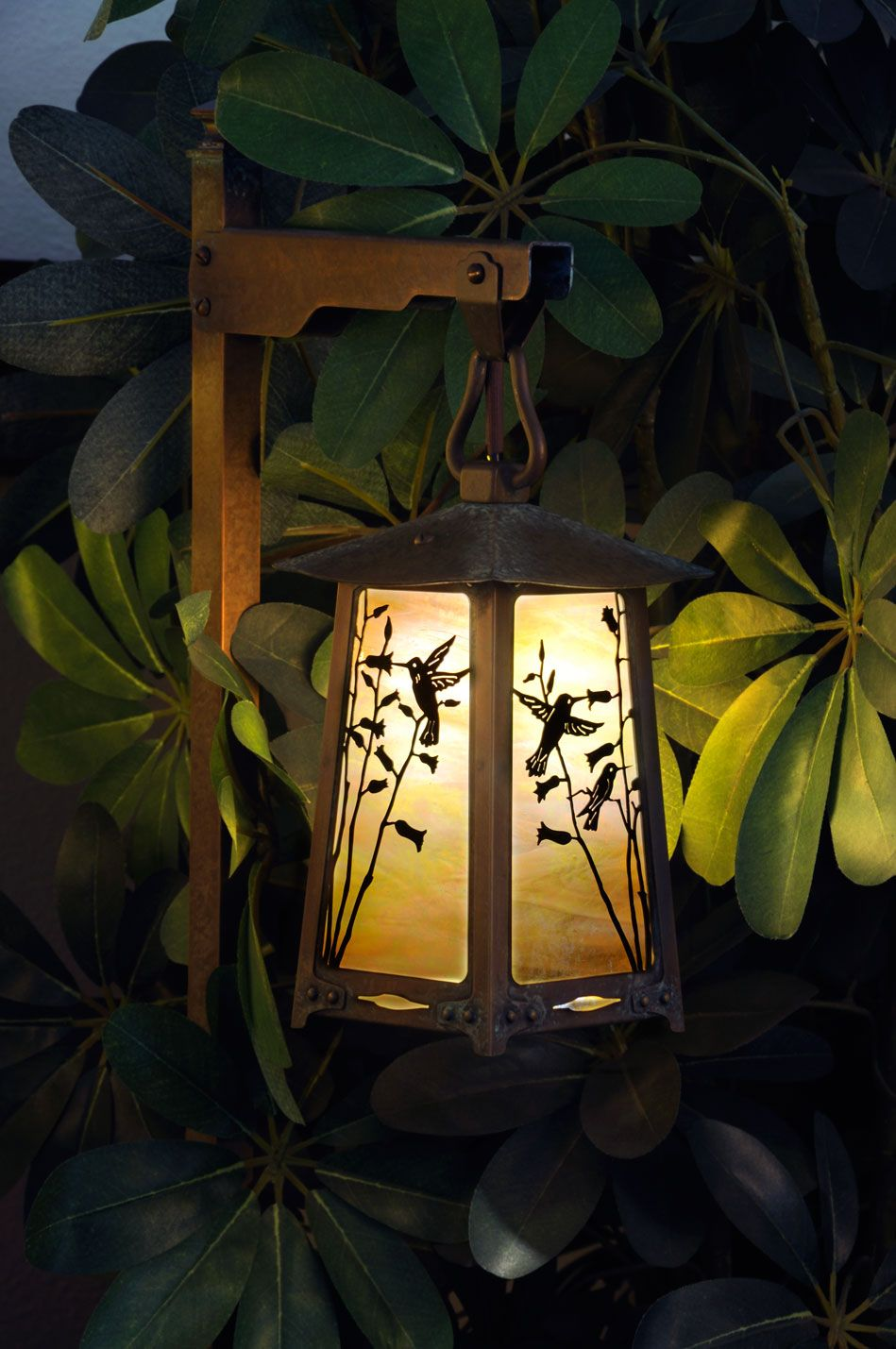 A Custom And Beautiful Humming Bird 12 Volt Path Light Beautiful By Day And So Functional At Night To Light Your Way Solid Br Exterior Light Fixtures Outdoor Post Lights House Lamp