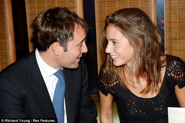 Ben Goldsmith steps out with his new girlfriend... as ...   634 x 421 jpeg 63kB