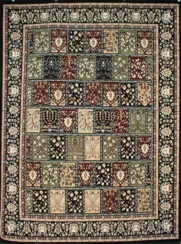 Traditional P Squares Persian Area Rugs Black 9 X 12 5 Generations Http Affordable