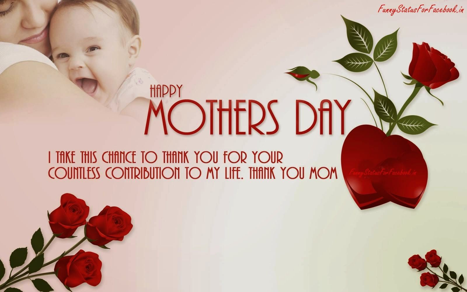 Mothers hold their children s hands for a short while but their hearts forever Happy Mother s Day 14 May