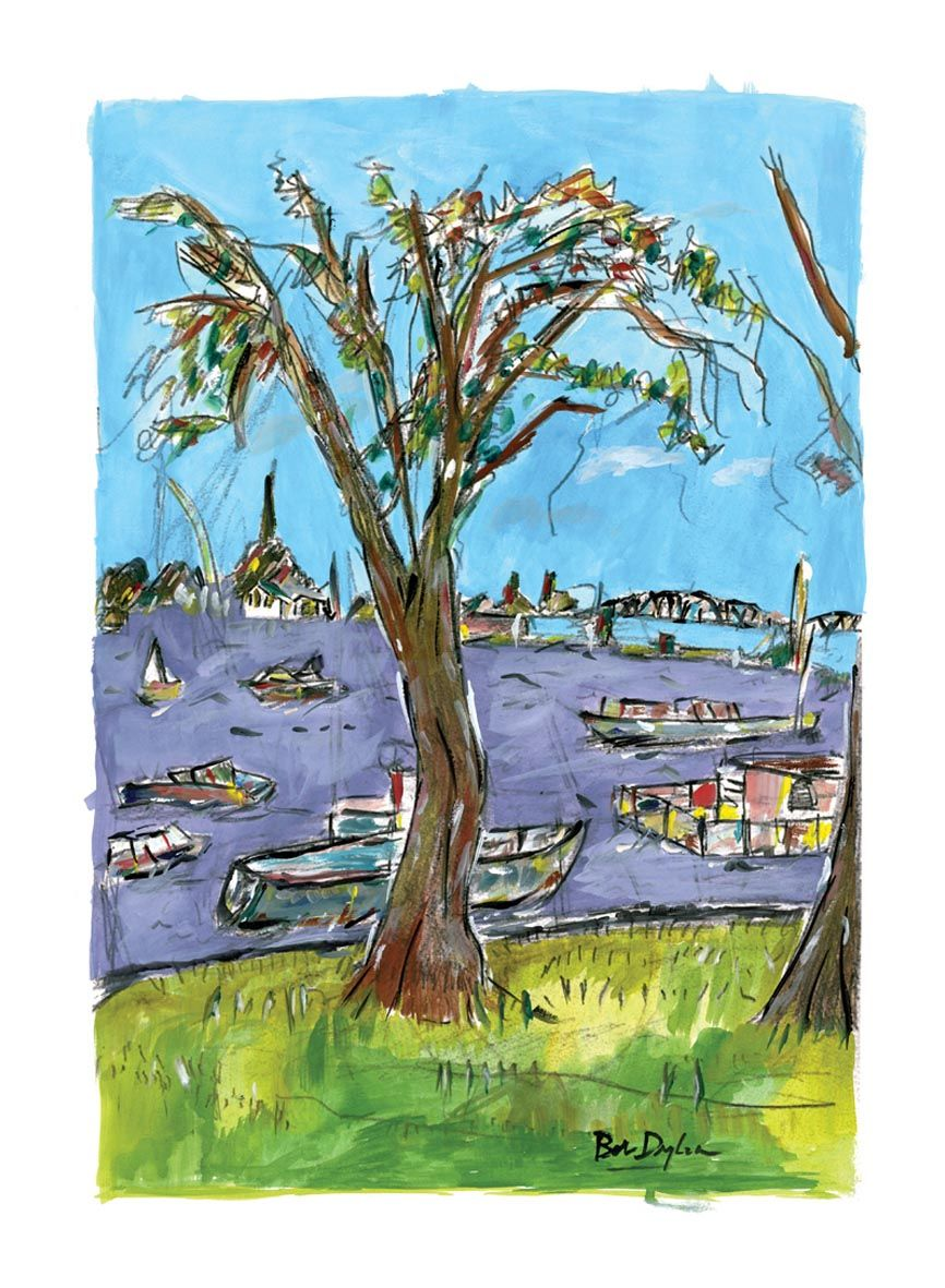 Paintings Bob Dylan - Google Art