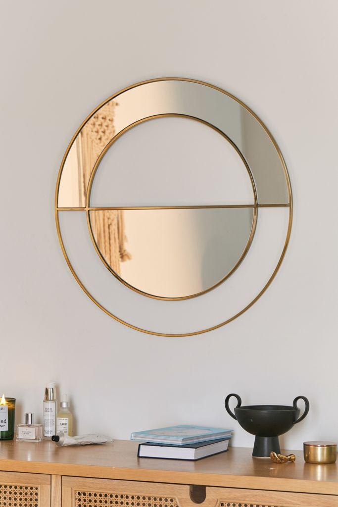 Tessa Mod Semicircle Wall Mirror In 2020 Mirror Mirrors Urban
