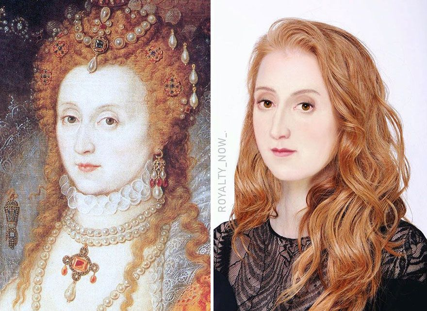 Here S What Julius Caesar And Others Would Look Like Today 30 Pics Famous Historical Figures Elizabeth I Tudor History