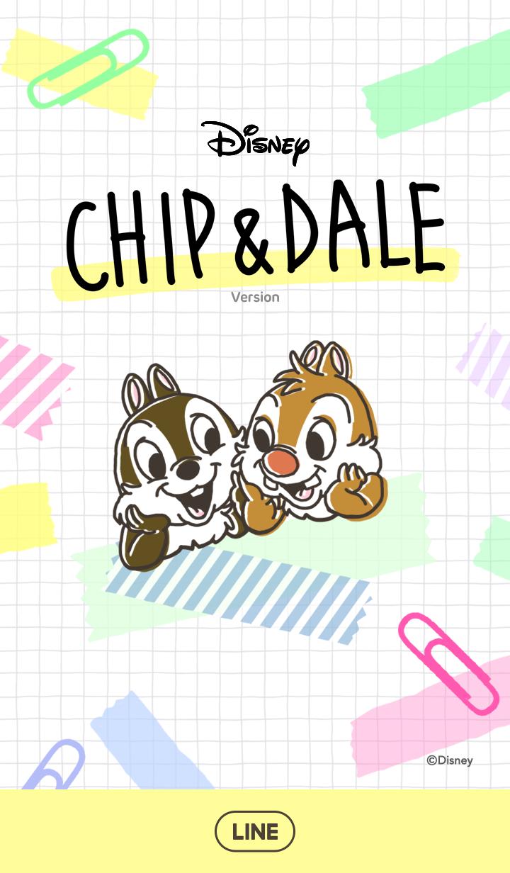 Chip N Dale Stationery Chip Dale Disney Lines Vintage