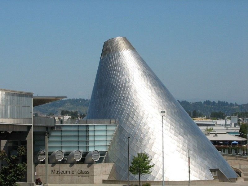 Museum of glass glass museum architecture photo