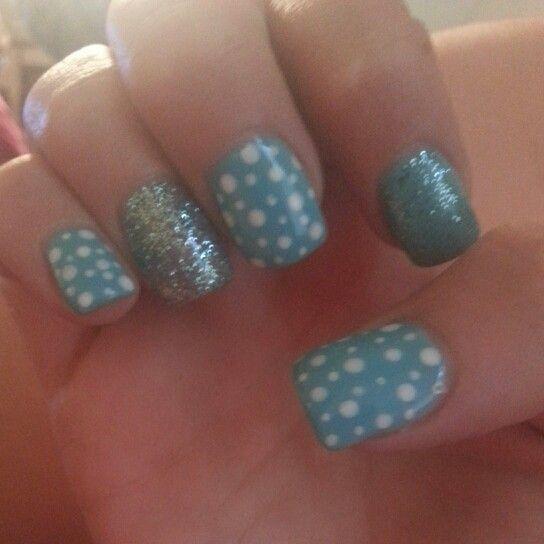 Glitter & polka dots :)