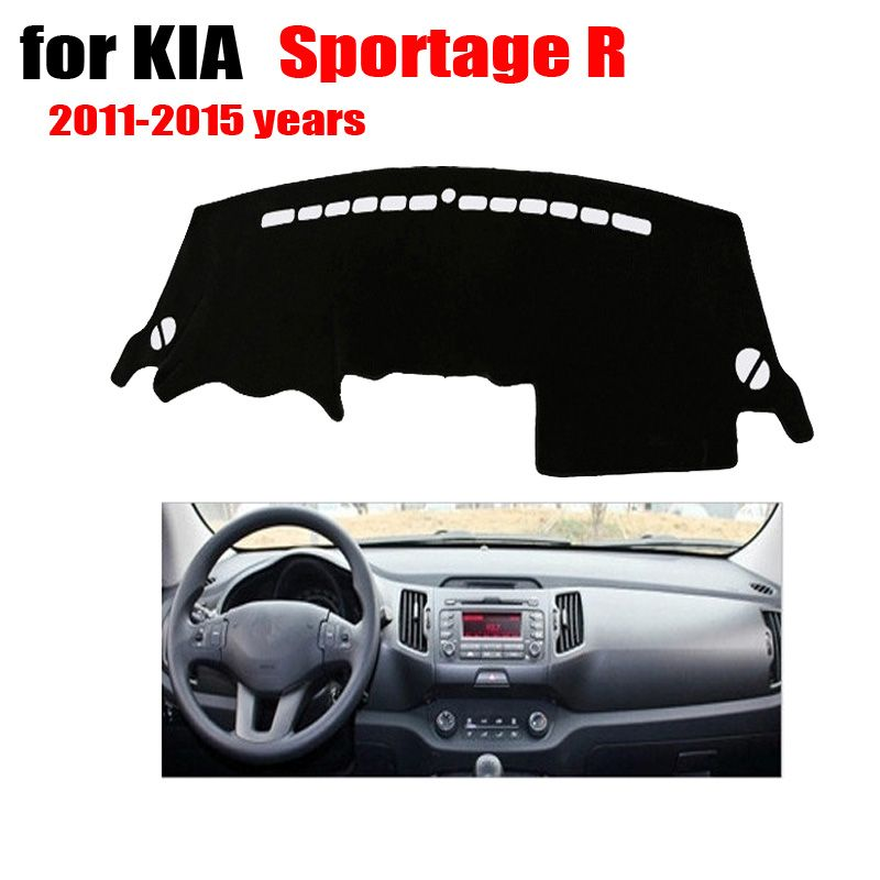 Car accessories Car Dashboard Cover Avoid Light Pad For Kia Sportage ...