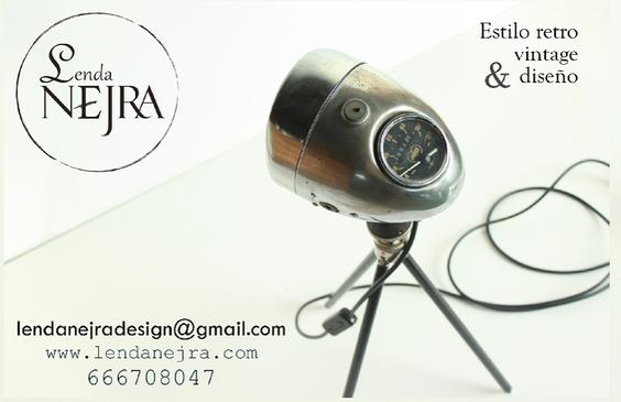 Diseños propios y personalizados de estilo retro, vintage e industrial.