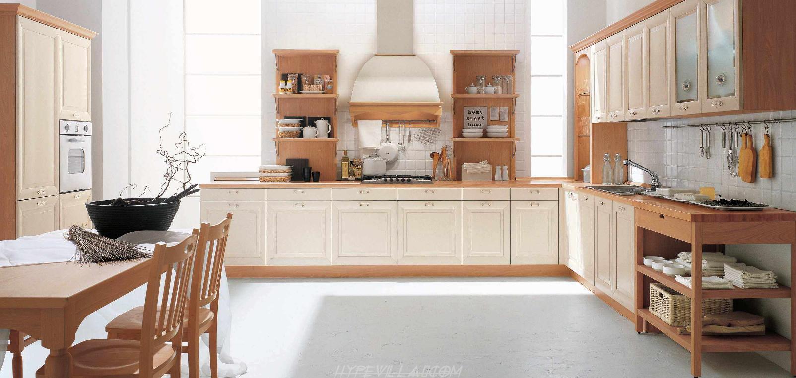 Spacy Kitchen Arrangement Ideas