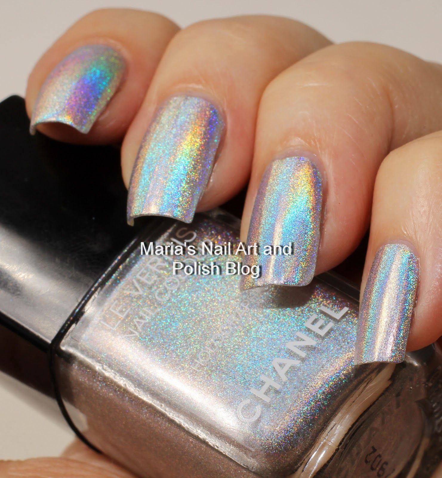 Chanel Holographic Duo Platinum Collection 2007 Nail Supplies In 2019 Chanel Nail Polish