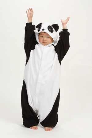 2f46670c4d29 Buy Panda Kigurumi Kids Onesie (Large) at Mighty Ape NZ. Features black and  white body