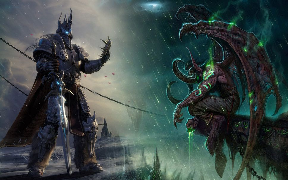 World Of Warcraft Wallpaper Vektorgrafik
