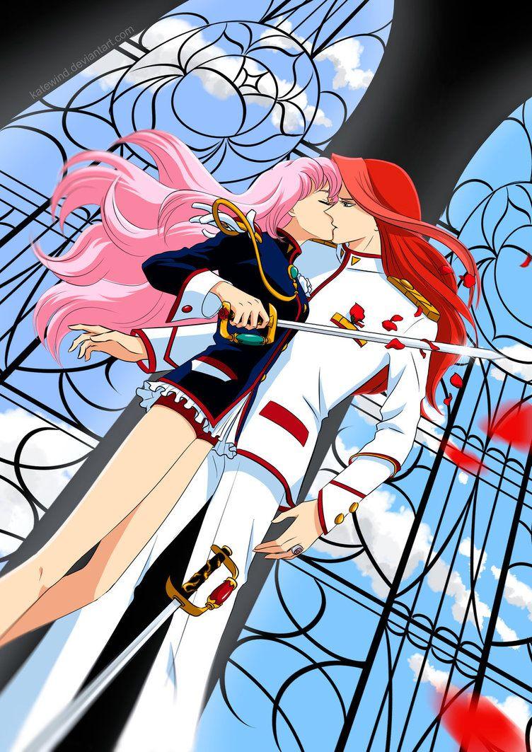 Utena X Touga By Katewind Deviantart Com On Deviantart Anime Utena Manga Love