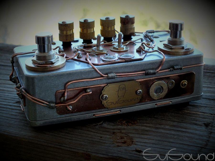 Guitar Pedals For Punk : custom steampunk design for overdrive booster overzoid electronics guitar pedals ~ Hamham.info Haus und Dekorationen