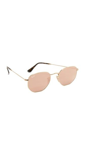 Octagon Mirrored Sunglasses   cherin   Sunglasses, Mirrored ... 4f5afbf275