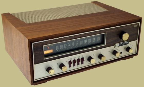 FISHER 500-T FM STEREO RECEIVER