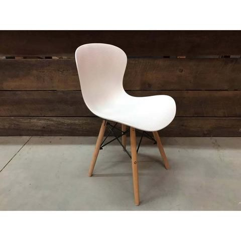 Eames Style Molded Rabbit Side Chair With Eiffel Legs Side Chairs Chair Eames