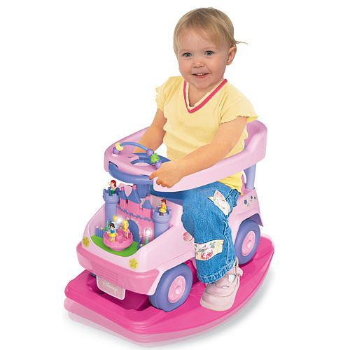 Disney Princess 4 In 1 Rock N Ride Activity Ride On