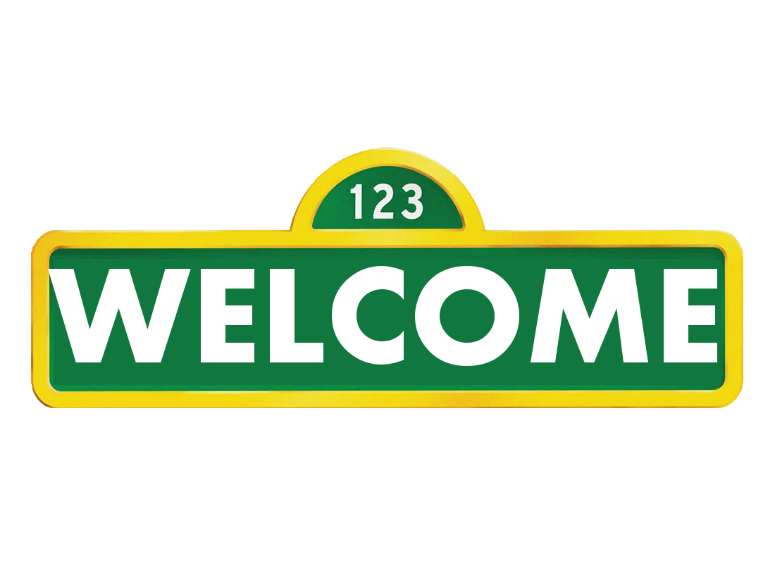 Welcome Sign Sesame Street Party Sesame Street Wire Wreath Frame