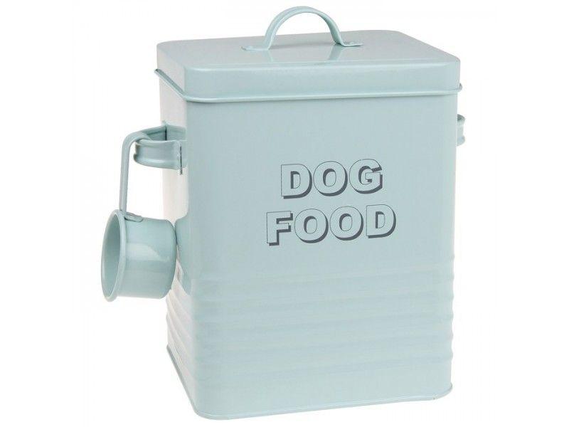Vintage Duck Egg Enamel Dog Food Storage Tin Dog Food Recipes