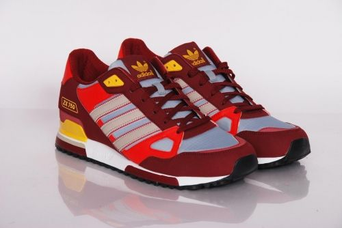 great look latest shopping adidas Originals - zx 750 Cardinal/colsil/silver (Q23661 ...