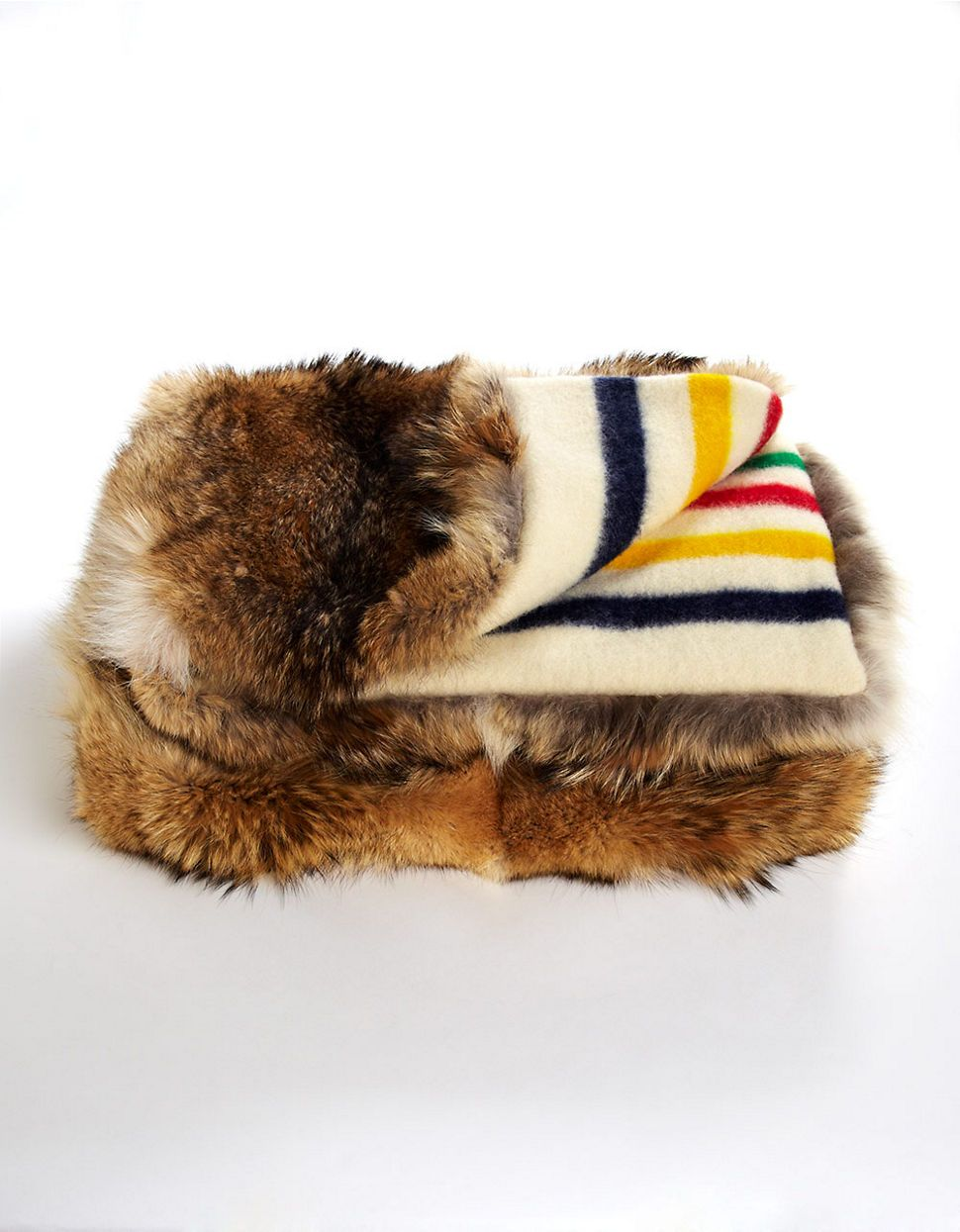 Covet I Would Build A Room Around This If I Owned It Hbc Collections Blankets Coyote Fur Throw Blanke Fur Throw Blanket Hudson Bay Blanket Fur Throw