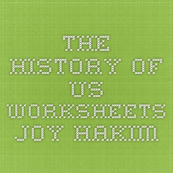 The history of us worksheets joy hakim free history resources the history of us worksheets joy hakim fandeluxe Choice Image