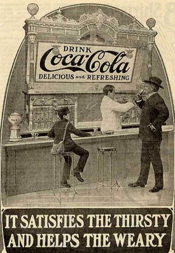 Coke ads from late 1800s and early 1900s   Vintage