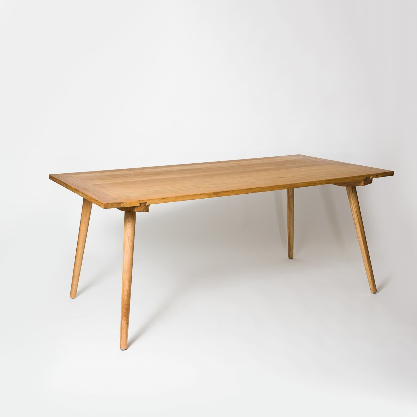 Tisch »Nikklas« aus Eiche (140x80cm) | Massivholztisch