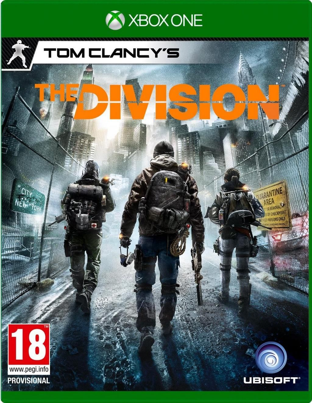 TRENDING Tom Clancy's The Division Xbox One Game pre-order £41