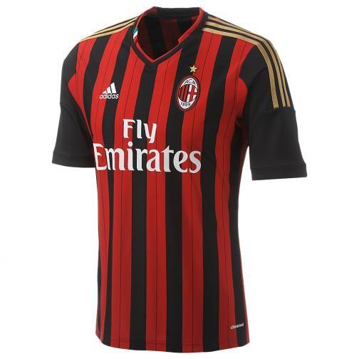 AC Milan home jersey 13/14 The new Balotelli shirt!   Ac milan ...