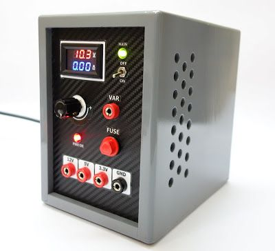 Variable Benchtop Atx Power Supply Electronics Projects Diy Computer Power Supplies Diy Electronics