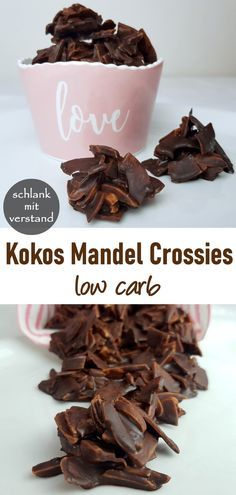 Kokos Mandel Crossies low carb #lowcarbyum