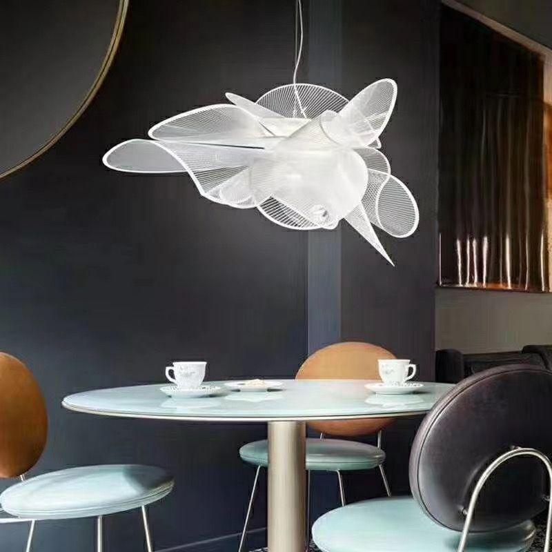 Slamp Led Suspension Lamp Replica Lampada A Sospensione In 2020 Lighting Design Interior Suspension Lamp Light Decorations