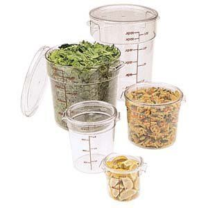 Cambro Rfscw12 135 Camwear 12 Quart Round Food Storage Container By Cambro Manufacturing 17 43 Cambro Kitchen Stocked Food Storage Containers
