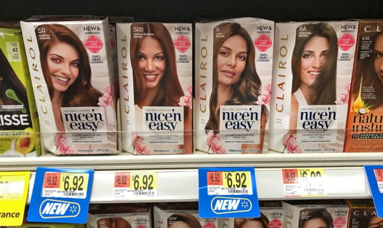 New Clairol Coupons Hair Color As Low As 1 92 At Walmart Clairol Hair Color Coupons
