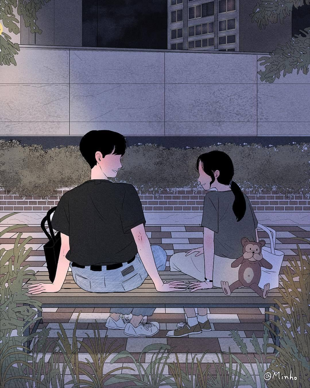 Heart Warming Illustrations Depict The Romantic Moments Of A Happy