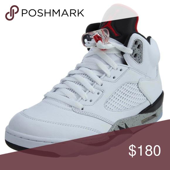 Jordan 5s White Cement Size 8.5 In Men