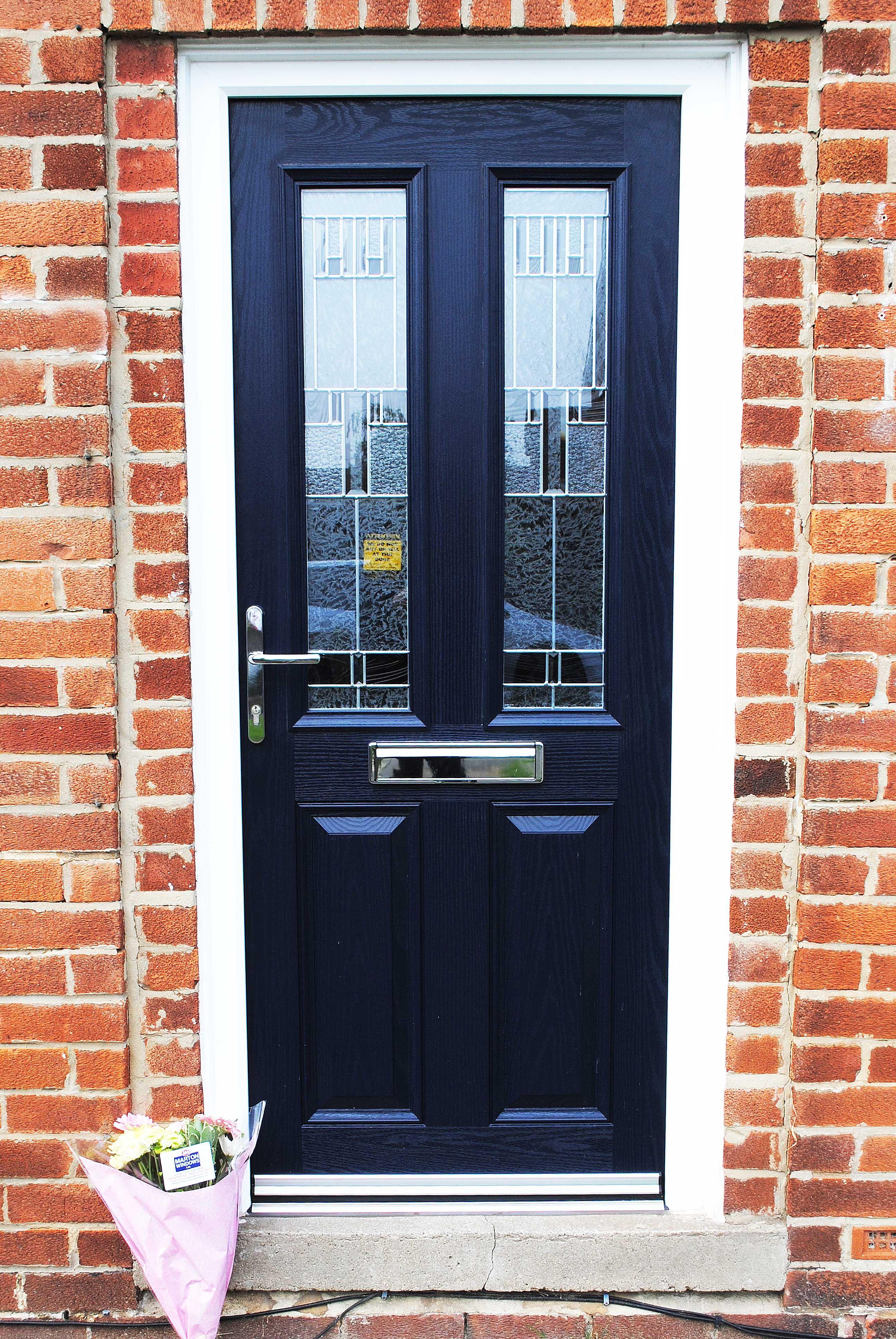 A Modern Composite Door A Door Style Altmore And Zinc Prairie