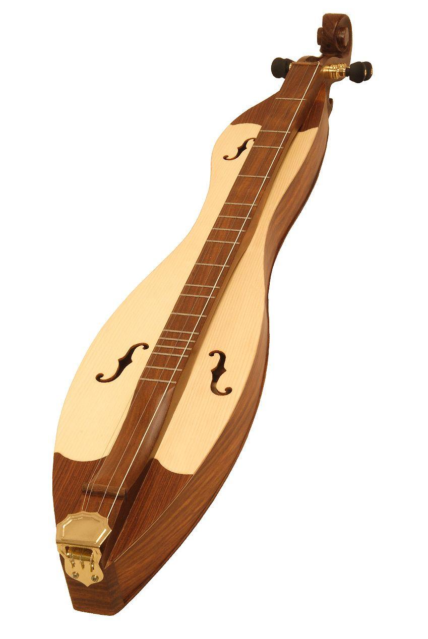 Cutaway Mountain Dulcimer, 4 Strings, Blemished