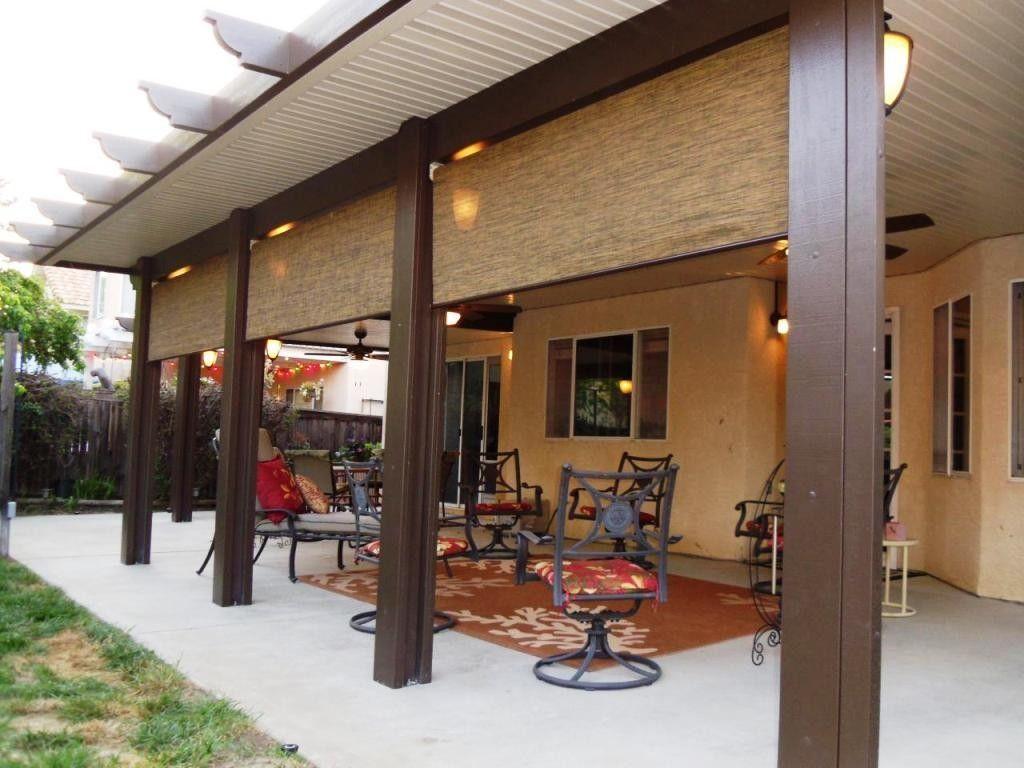 Aluminum Wood Patio Cover Aluminum Patio Covers Patio Enclosures Diy Patio
