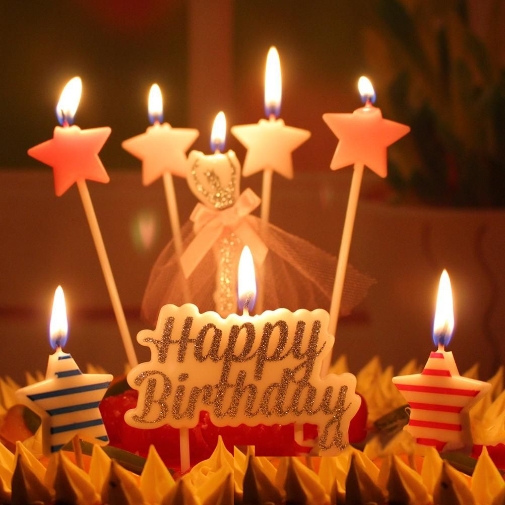 Fabulous 25 Beautiful Photo Of Birthday Cake Candle Birthday Cake With Funny Birthday Cards Online Elaedamsfinfo