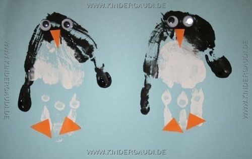 Pinguine kiga winter pinterest pinguine winter - Basteln winter kindergarten ...