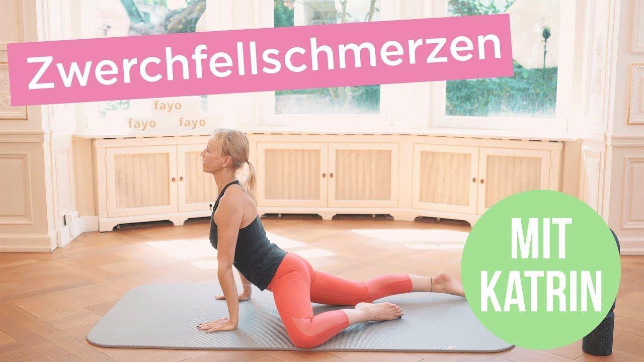Schmerzen im Zwerchfell lösen | fayo® mit Katrin | Physiotherapie ...
