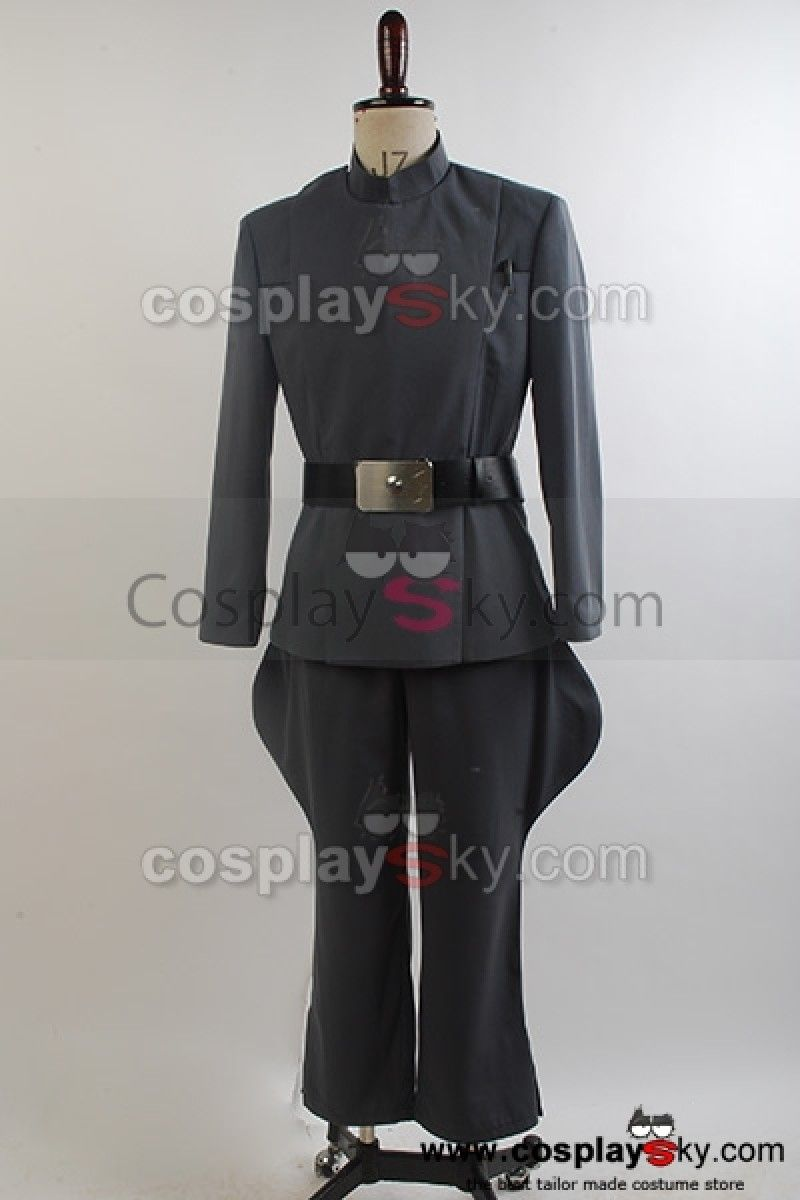 Star Wars Imperial Officer Uniform Costume NEW Updated Version *Custom Made*