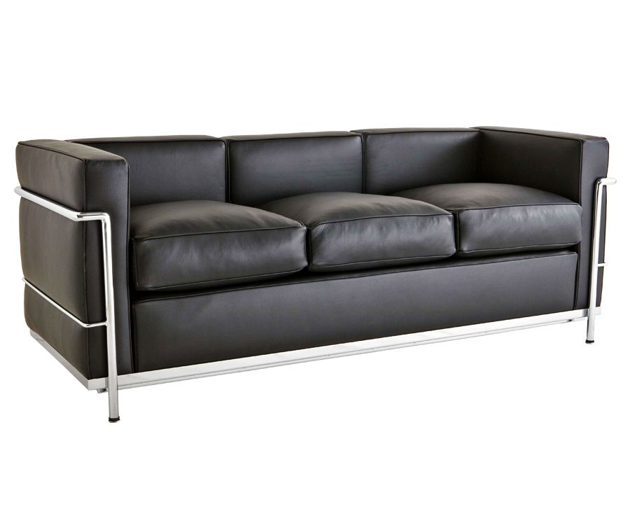Le Corbusier Lc2 Sofa 3 Sitzer 1 790 Made In Italy Bauhaus Mobel Bauhaus Interior Sofa