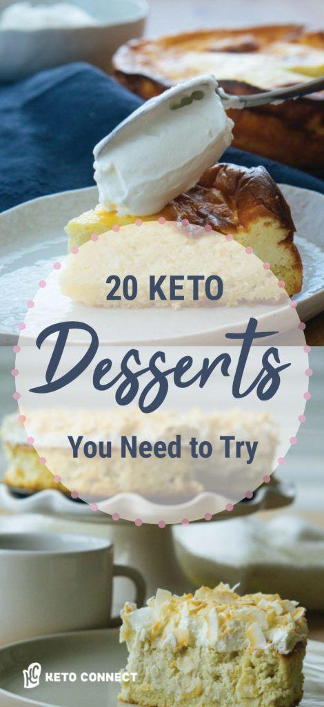 The Best Keto Desserts #ketodesserts