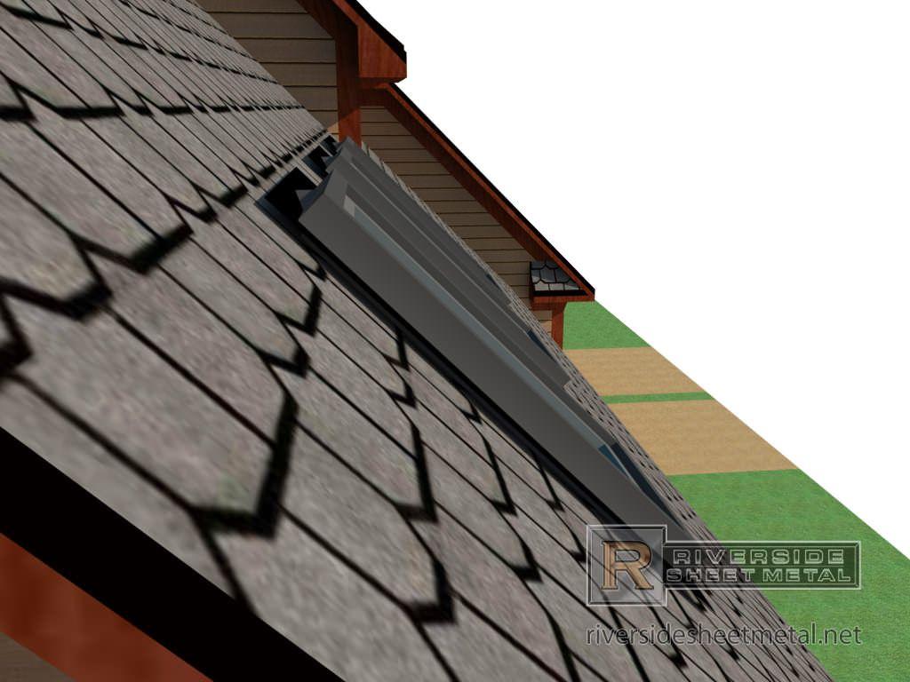 Cricket For Chimney Copper Aluminum Steel Zinc Freedom Gray Steel Zinc Aluminum